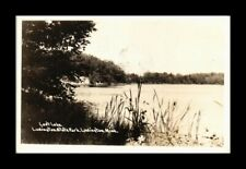 DR JIM STAMPS US LOST LAKE LUDINGTON STATE PARK MICHIGAN REAL PHOTO POSTCARD