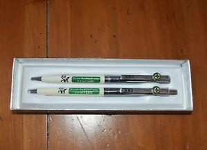 Vintage Green Cross for Safety PAPERMATE Pen Pencil Set - WORKS
