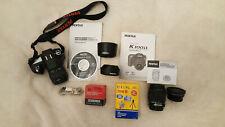 PENTAX K100D 6.1MP Digital SLR Camera - 18-55mm lens, 50-200 zoom lens and more!