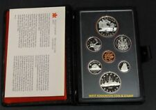 1981 PROOF DOUBLE DOLLAR SET - CANADIAN 7-COIN SET - CASE & CERTIFICATE