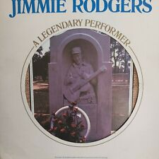Jimmie Rodgers - A Legendary Performer - Booklet - LP Vinyl Record