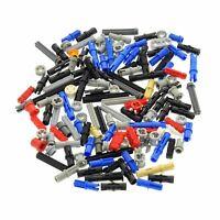 100 Lego Technic Teile ca. 30g z.B. Pin Stecker Verbinder Achs Steine gemischt