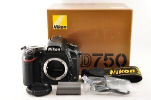 [Excellent] Nikon D750 24.3MP Full Frame Digital SLR Camera from Japan