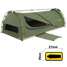 OZTRAIL WINTON KING SINGLE CANVAS DOME SWAG