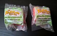 1993 Flintstones McDonald's Happy Meal Toys! 2 SEALED Pebbles Dino & Toy-s-aurus