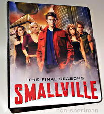 SMALLVILLE 7-10 CRYPTOZOIC BINDER & COSTUME M30 CLARK