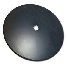 """Universal Fit 18"""" Plain Disc Blade 3mm x 1"""" or 1-1/8"""" Square Double Punch Hole"""