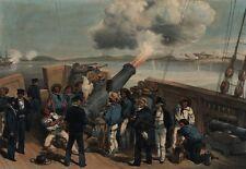 Crimean War Royal Navy Reproduction Art Print 1854 7x5 inches