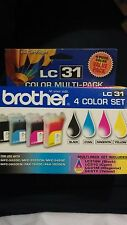 New Brother LC31 Color Multi-Pack Brother LC31 Ink Cartridges Black LC314PKS