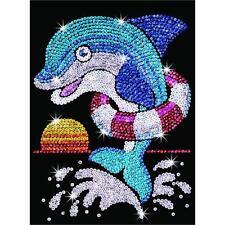 Sequin Art Junior Jack Dolphin Craft Kit 1304