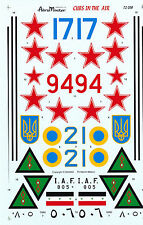 Russian Ukrainian Iraqi Decals 1/32 1/48 1/72 1/144 for Mig 15 17 21 23 25 29