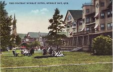 Canada Quebec Murray Bay - Chateau Murray Hotel old unused postcard
