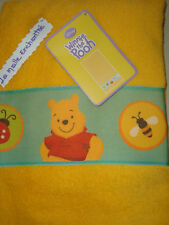 SHEET BATH TOWEL WINNIE DISNEY NEW 70CM X 140 CM