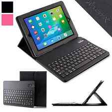 iPad 2 3 4 Bluetooth Keyboard Case Wireless Detachable Leather Folio Cover Stand