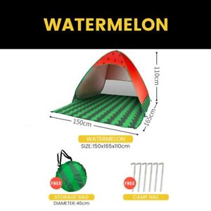 Tent for Beach Picnic Tents Sun Shelter Aotomatic Pop Up Foldable Portable Tents