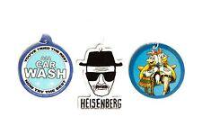 Breaking Bad Air Freshener Set of 3 – Heisenberg, A1A Carwash, Pollos Hermanos