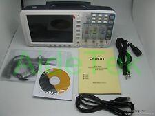 OWON 100Mhz osciloscopio SDS7102V 1G/s LAN+VGA+bolsa gratis FW UPGR Reino barcR