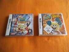 Spongebob Schwammkopf der Gelbe Rächer + Durch Dick und Dünn Nintendo DS