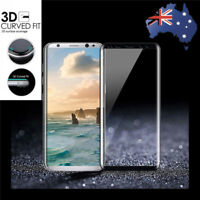 Curve Full Tempered Glass Screen Case for Samsung Galaxy S8 S9 / S8 Plus S9 Plus