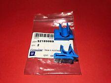 92189069 Genuine Holden New 2 x Glove Box Blue Retaining Clips VZ Commodore
