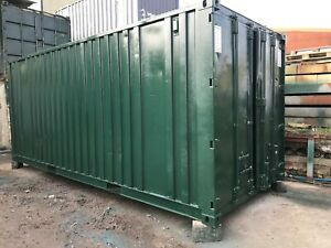 21' x 8' ANTI-VANDAL OFFICE/STORAGE 50/50 SPLIT CONTAINER - ALL AREAS SERVICED