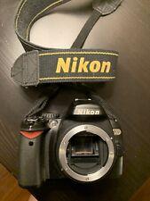 Nikon D D40x 10.2MP Digital SLR Camera - Black (Body Only) Battery Included