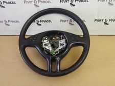 ORIGINAL BMW 3 SERIES E46 COUPE MULTI FUNCTION LEATHER STEERING WHEEL 6753525