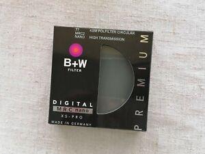 B+W 77mm KSM HTC - POL MRC Nano Polfilter Circular High Transmission Filter CPL