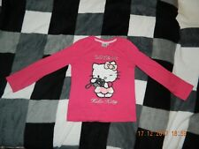 Hello Kitty Sweatshirt gr.140 in Rosa-Top Zustand