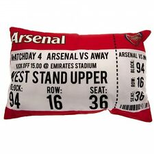 "NEW ARSENAL FOOTBALL CLUB ""MATCH DAY"" CUSHION PILLOW KIDS BOYS FANS BEDROOM"