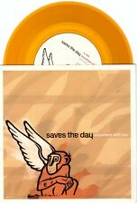 "Saves the Day ""Anywhere With You"" 7"" OOP NM The Get Up Kids Say Anything Braid"