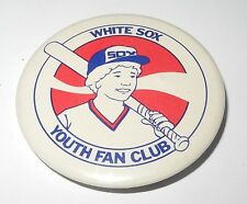 1980's PM10 Baseball Stadium Pin/Coin Chicago White Sox Youth Fan Club