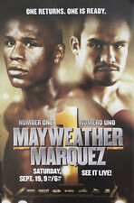 Original Floyd Mayweather v Juan Manuel Marquez Boxing Fight Poster Fight Poster