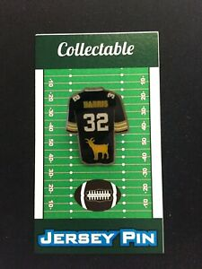 Pittsburgh Steelers Franco Harris jersey lapel pin-Collectible-Gridiron GOAT