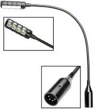 ADAM HALL SLED1 ULTRA XLR 4-pol LED Schwanenhalslampe Mischpultlampe Mixerlampe