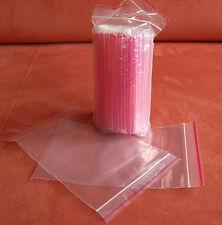 100 Druckverschlußbeutel Beutel wiederverschließbar Zipperbeutel Kunststoff