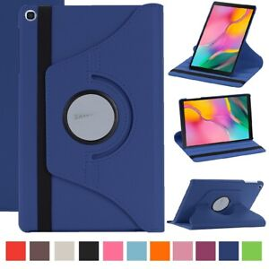 360 Rotate Leather Case For Samsung Tab A 8 10.5 10.1 T387 T590 P200 T290 T510