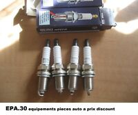 4 BOUGIES ALLUMAGE TOYOTA AVENSIS COROLLA LAND CRUISER MATRIX MR2 PRIUS - Z154
