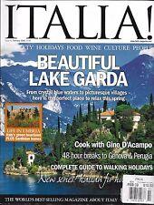 Italia magazine Lake Garda Umbria Complete walking holiday guide Genova Perugia