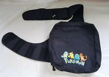 Pokemon Messenger Book Bag  Pockets Nintendo Video Games Pikachu School GUC