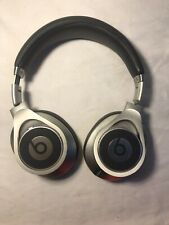 Silver Beats Executive Wired Over-Ear Headphone by Dre - As Is/Parts- 52