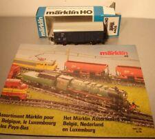 Märklin HO:   4405 CFL ged. Güterwagen  mit Export Prospekt 1987/88  NEU