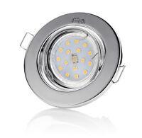 Luminaire à encastrer GU10 LED Set decoro 230V 4W TÜV Spot de plafond Spots