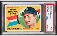 1960 Topps Carl Yastrzemski Rookie RC #148 HOF PSA EX 5 -Centered