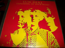 """Sun Dial – Exploding In Your Mind - LP 12"""" Single Sided - 1990 - UFO Records"""