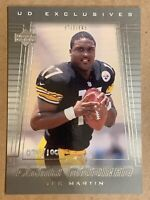 2000 Upper Deck UD Exclusives Star Rookie Tee Martin. SP Hand Numbered /100 Rare