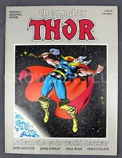 Marvel Graphic Novel The Mighty Thor I, Whom The Gods Would Destroy Shooter Ryan