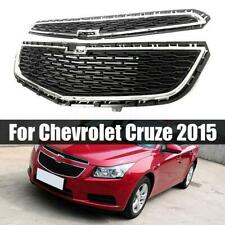 3PCS ABS Front Bumper Upper Grill Middle Lower Grille For Chevrolet Cruze 2015