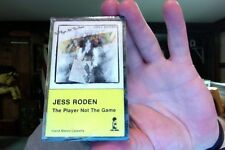 Jess Roden- The Player Not the Game- new/sealed cassette tape