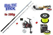Baltic Stick 3m + Quantum THROTTLE TH50 + Spiderwire® Dura4Braid 0,20mm 17kg